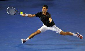 Un Djokovic da ritorno al futuro