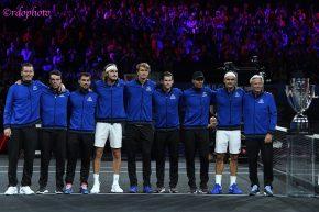 Laver Cup 2019. il trionfo del Team Europe. Foto di Roberto dell'Olivo