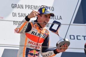 Il trionfo di Marc Marquez a Misano. Le foto di Claudio Pasquazi