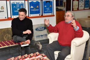 Dalla Moto Gp al Rugby, Carlo Pernat presenta il suo libro al museo di Artena