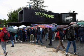 IBI19, La pioggia rimanda gli esordi di Federer e Nadal
