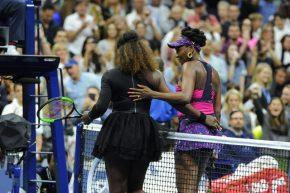 Rafa e le sorelle Williams in azione agli US Open by Luigi Serra