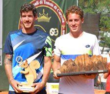 ATP Cortina, finale senza storia. Trionfo per lo spagnolo Carballes Baena