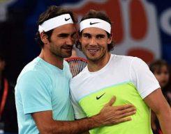 """""""E' stato più bravo lui, lo sport è semplice"""". Che esempio, Rafa che non cerca scuse e s'inchina a Federer!"""