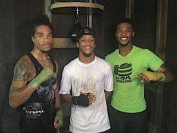 Domani a Macon (Georgia), tre fratelli saliranno sul ring nella stessa serata