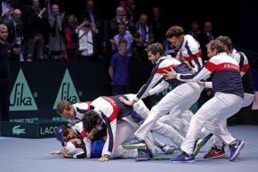"""La """"decima"""" Coppa Davis della Francia è molto lontana dalla """"decima"""" di Nadal: più che vera """"grandeur"""" è stato grande il piccolo Goffin!"""