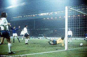 14 novembre 1973, la prima vittoria dell'Italia a Wembley