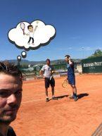 Tennis, vecchio amore di coach