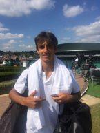 """Federer s'illude e poi s'appisola come un """"vecchio"""" leone…. E baby Lorenzo può diventare Magnifico!"""