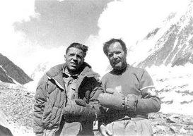 31 luglio 1954, Lacedelli e Compagnoni sul K2