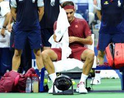 Le immagini della sconfitta di Federer agli US open 2018 by Luigi Serra
