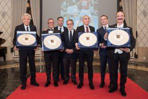 La Hall of Fame Italia ha onorato Benvenuti Oliva, Stecca e Parisi