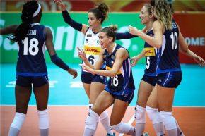 Volley femminile,Mondiali 2018: irrefrenabile Italia