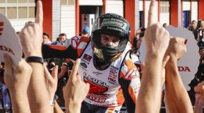 MotoGP Giappone 2018, vince Marquez e diventa campione del mondo