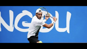 Tennis,Matteo Berrettini cede a Kyle Edmund