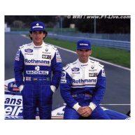 13 Ottobre 1996, Damon Hill come il padre