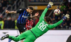 L'Inter beffa il Milan al 92°. Icardi implacabile complice una papera di Donnarumma