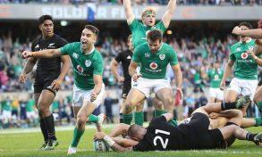 Irlanda-All Blacks: quando il campo batte l'algoritmo….