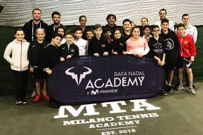 Mta e Rafa Nadal Academy a braccetto e dagli spagnoli arrivano i complimenti.