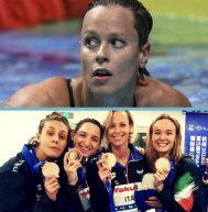 Nuoto, per Federica Pellegrini la 50esima medaglia in carriera