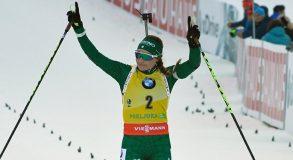 Biathlon, Dorothea Wierer immensa