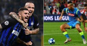 Inter e Napoli salutano la Champions