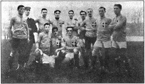 6 gennaio 1911 – Prima volta della Nazionale in azzurro