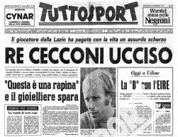 18 gennaio 1977 – Lo scherzo e la tragica fine di Luciano Re Cecconi