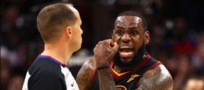 LeBron James lancia un avvertimento al basket americano e a Donald Trump