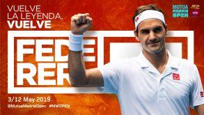 Madrid è certezza ma Federer deciderà di giocare  anche Roma prima del Roland Garros?