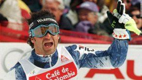 15 marzo 1998, Alberto Tomba si congeda con l'ultima vittoria