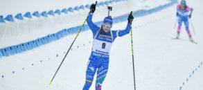 Lo storico trionfo di Dorothea Wierer nel biathlon