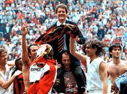 17 aprile 1994, il quattordicesimo scudetto del Milan, terzo consecutivo