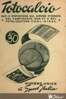 5 maggio 1946: nasce il Totocalcio