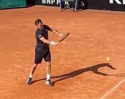 IBI 2019, Federer in campo a Roma. Le immagini del primo allenamento