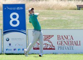 Golf, al Terre dei Consoli comandano il sudafricano Easton e lo spagnolo Pigem. Bene Scalise e Maccario