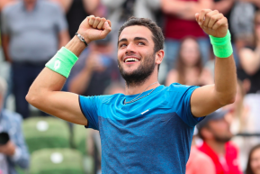 Roger fa un regalo all'Italtennis e Matteo Berrettini entra in Top 20