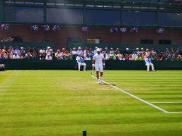 Tennis, Fabbiano è il vero gigante. Sconfitto anche Karlovic e terzo turno a Wimbledon
