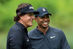 Golf, una luce nel buio: si lavora a un match Tiger-Mickelson