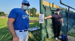 Codogno, lo sport riparte dal baseball e … dal paziente numero 1!