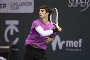 Tennis, buona la prima per Lorenzo Musettiagli Internazionali di Tennis Città di Parma