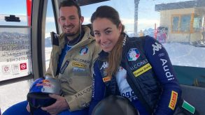 """Sci, la Goggia trionfa a Crans, per Paris ancora un podio sulla """"sua"""" Streif"""