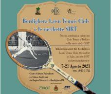 A Bordighera la mostra di racchette di legno e sul primo Club Tennis d'Italia