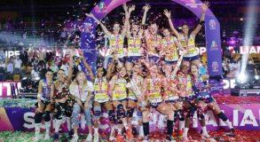Volley, supercoppa all'Imoco Conegliano: a Novara solo il primo set. Courtney mvp